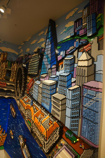 Lego Map of London, LEGO Store, 3 Swiss Court, Leicester Square, City of Westminster, London (10)