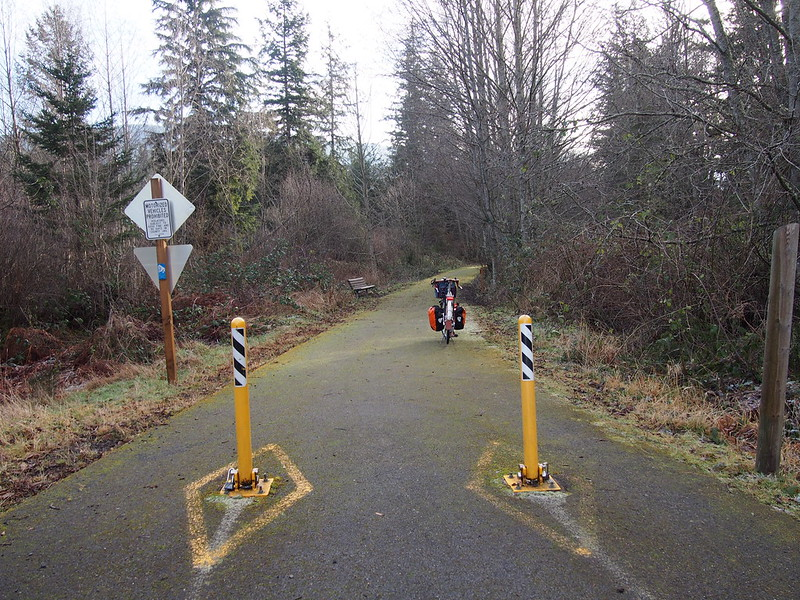 Olympic Discovery Trail Entrance
