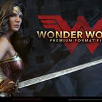 Sideshow Collectibles【神力女超人】蝙蝠俠對超人:正義曙光 Wonder Woman 1/4 比例全身雕像作品