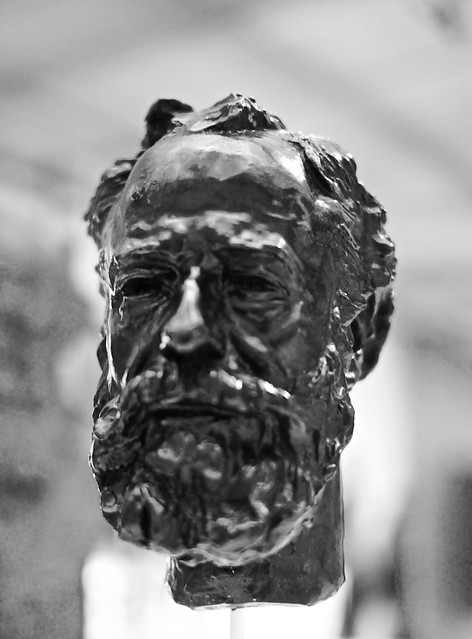 Portrait of Legros (1910) - Auguste Rodin (1840 - 1917)