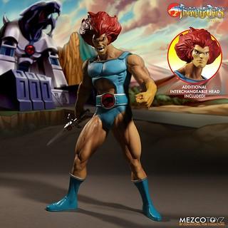 霹靂、霹靂、霹靂貓!!!MEZCO 《霹靂貓》Mega Scale 系列 - 獅貓 豪華組  ThunderCats Mega Scale Lion-O Deluxe Edition
