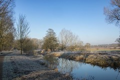 A frosty, Sunday morning walk with the family along the Great Ouse by Stony Stratford gave us some wonderful views. #walk1000miles #getoutside #getoutdoors #outdoors #landscape #landscapephotography #landscape_captures #landscapes #winter #frost #river #r
