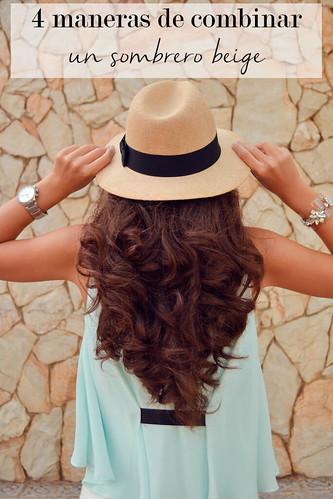 4 maneras de combinar un sombrero panamá beige