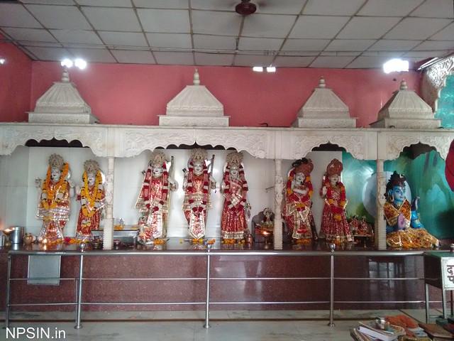 Shri Lakshmi Narayan, Shri Ram Family, Shri Radha Krishna