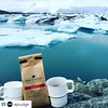 #Repost @sprudge with @repostapp. ・・・ Wow, this is a dramatic cuppa @tobysbrooklyn brewed in Iceland. #regram from @therealbkchic #coffee #coffeeabroad