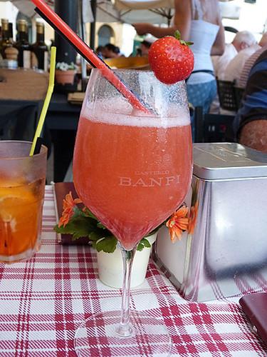 bellini a la fraise