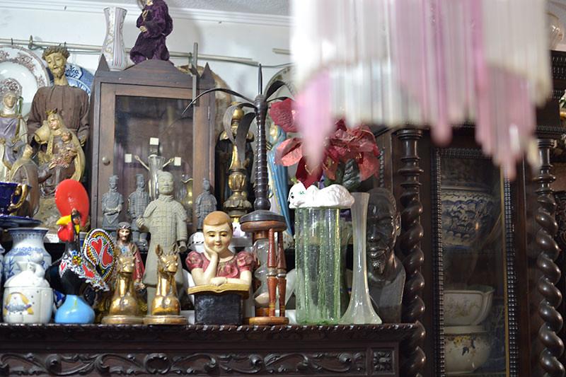 Tienda de antigüedades en Lisboa