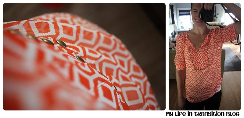 41Hawthorn Moni Geo Print & Camisole Blouse: $58