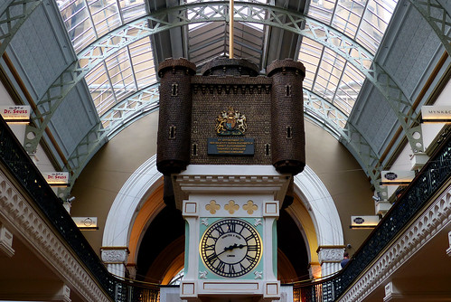 The Royal Clock.QVB Sydney.