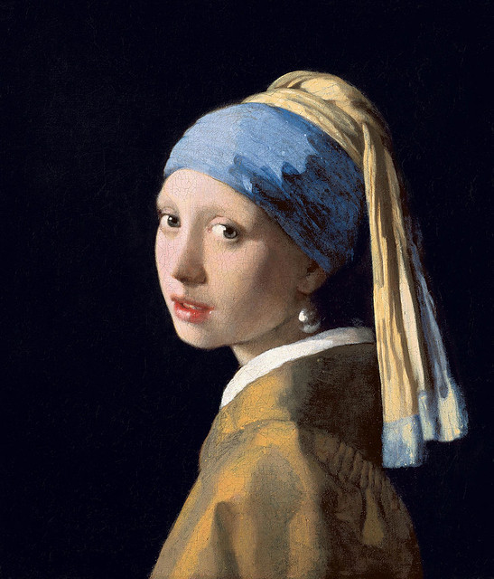 Johannes Vermeer, Girl with a Pearl Earring, 1665