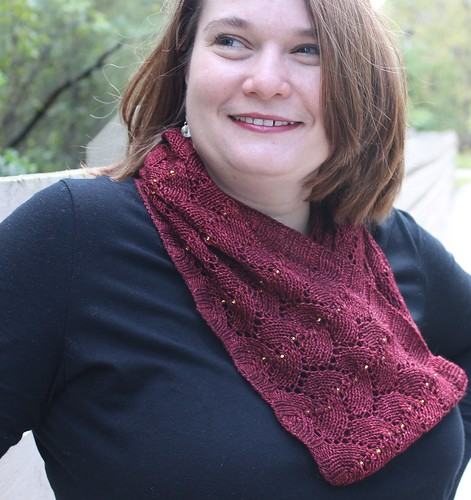 Knitting Pattern Release Florence Cathedral Cowl Floofymooses Blog