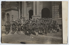 [Military brass band]