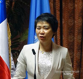 Fang Liu, Secretaria General de OACI 2015 (RD)