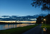 Lovely evening at River Rhine