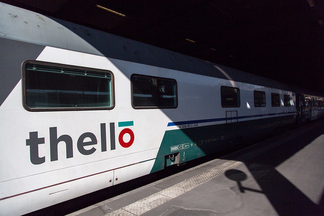 thello Milano to Paris