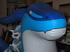 Inflatable Blue Zenith Dragon with Dialga plush by SpacetimePSD