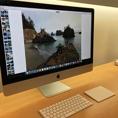 iMac見に来た。