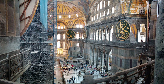 Hagia Sofia (under construction but still beautiful)