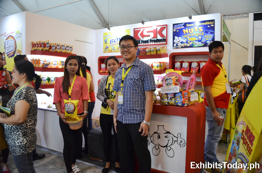 KSK Food Products Exhibit Booth