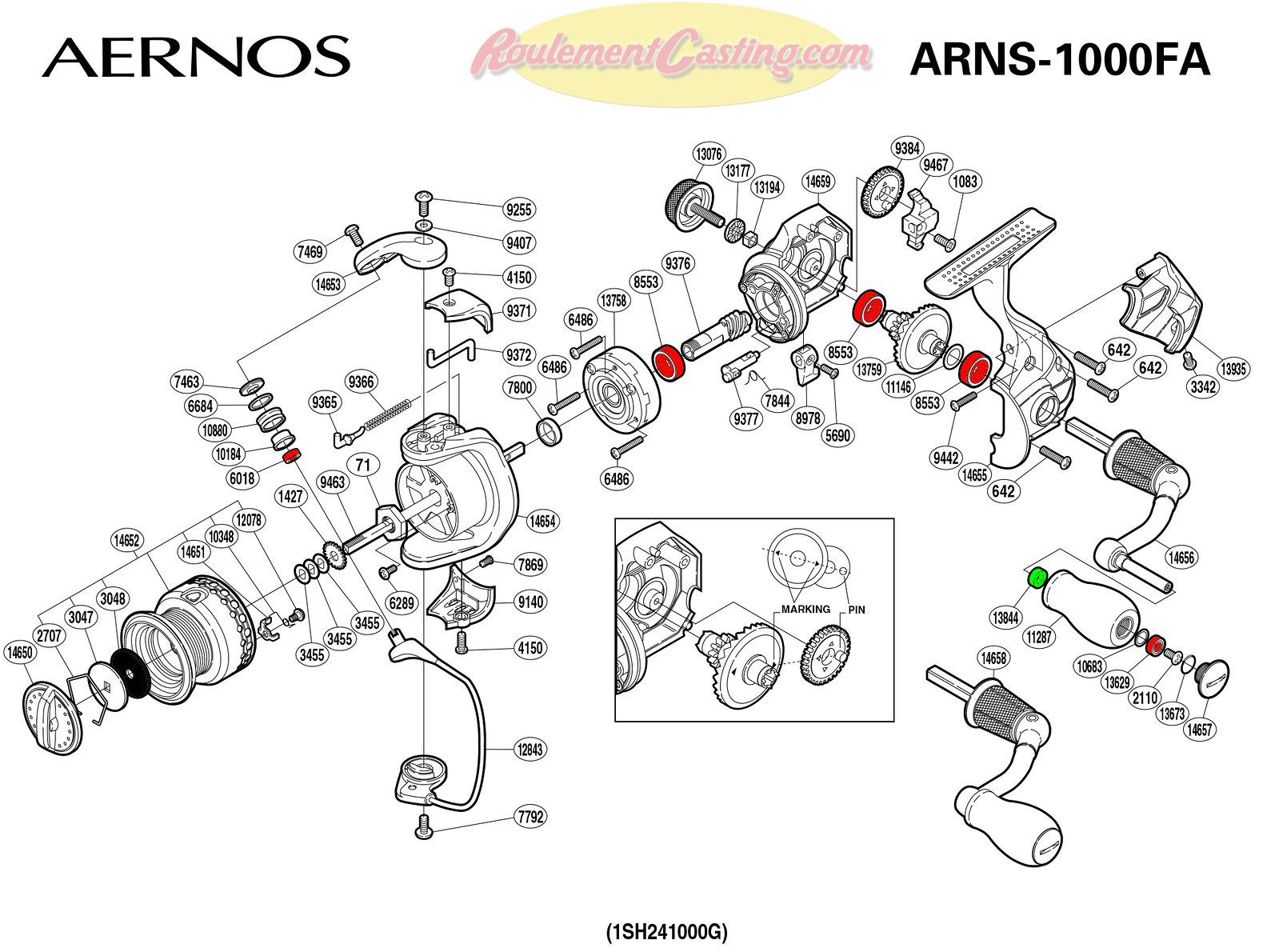 Schema-Shimano-AERNOS-1000FA