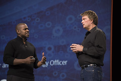 Michael Greene and Mike Olson, Intel Keynote, JavaOne 2015 San Francisco