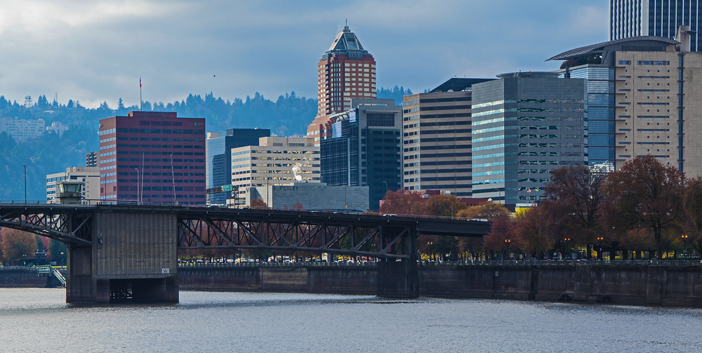 West End/Morrison Bridge Portland Oregon