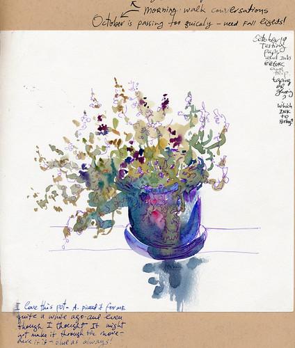 Sketchbook #93 - My Flowers