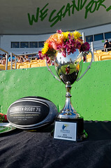 The MVP rugby ball and 2015 Bowl Championship — Halloween Rugby 7s in St. Petersburg, Florida
