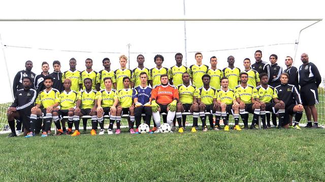 2015-2016 Men's Soccer Team