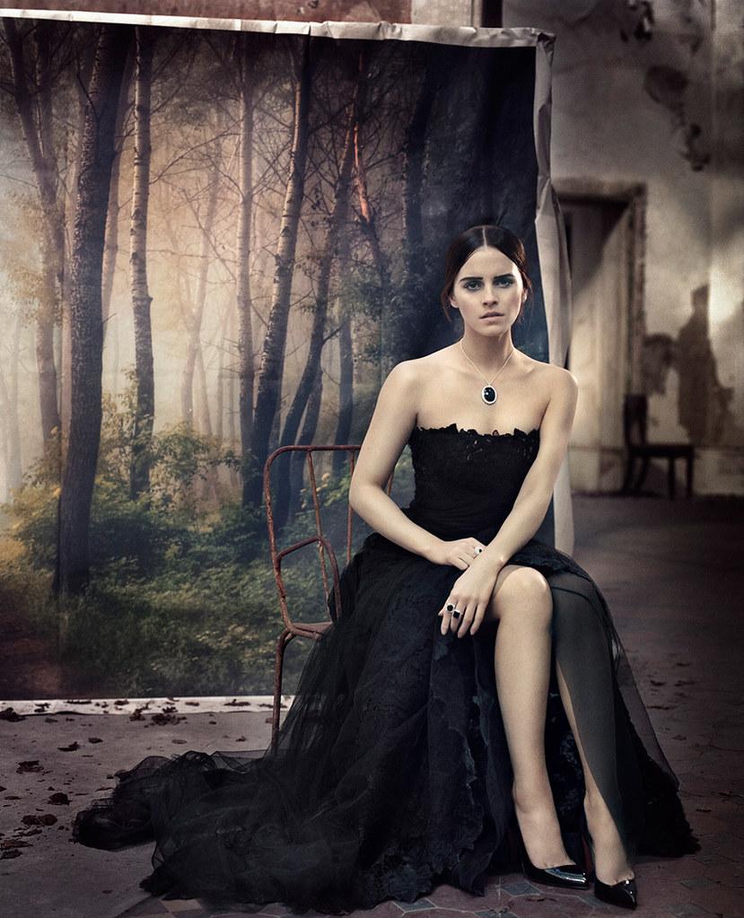 Эмма Уотсон — Фотосессия для «Vogue» IT 2015 – 1