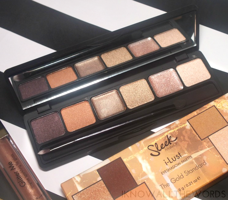 Sleek Makeup 24 K Gold Collection iLust Eyeshadow Palette The Gold Standard (2)