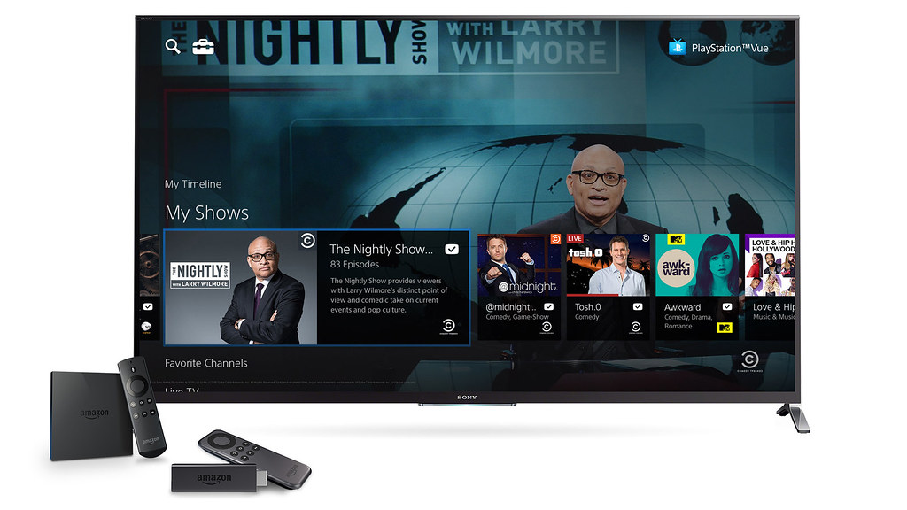 PlayStation Vue on Amazon Devices