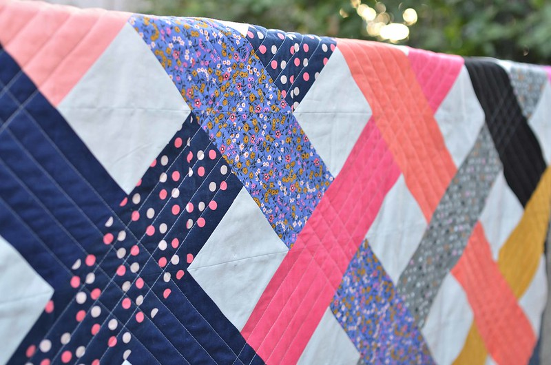 intertwined quilt