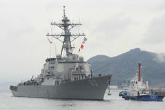 USS Stethem (DDG 63) arrives at Fleet Activities Sasebo, Japan, Nov. 13 for a brief stop before transiting to Shanghai. (U.S. Navy/MC1 Joshua Hammond)