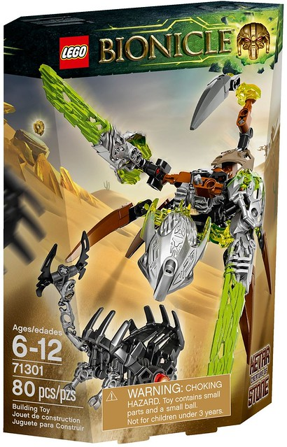 LEGO Bionicle 2016 | 71301 | Ketar - Creature of Stone