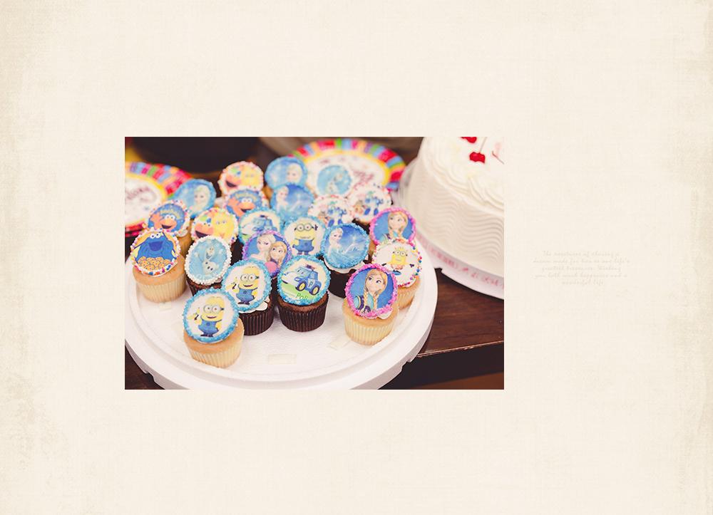 冰雪奇緣杯子蛋糕,小小兵,POLI杯子蛋糕酷崎獅 童趣糕點