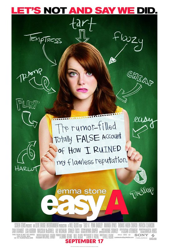 Easy A - Poster 1
