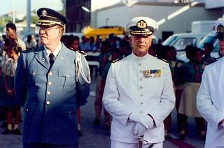 Als commandant Nederlandse strijdmacht in het Caraïbisch Gebied