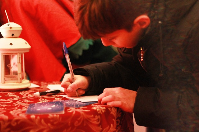 Noicattaro. Inaugurazione Casa Babbo Natale 2015 intero 1