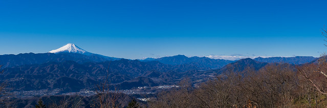 富士山@陣馬山頂直下
