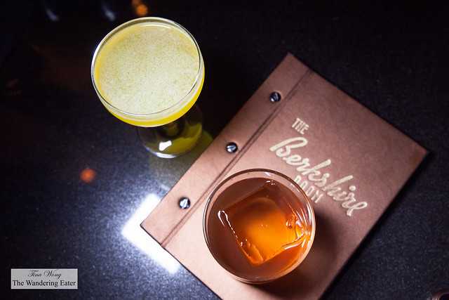 Our drinks - The Golden Path and Weston
