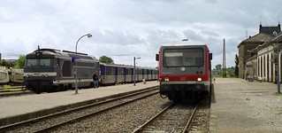 18.05.03 Lauterbourg BB 67607  and   628.261 (DB)