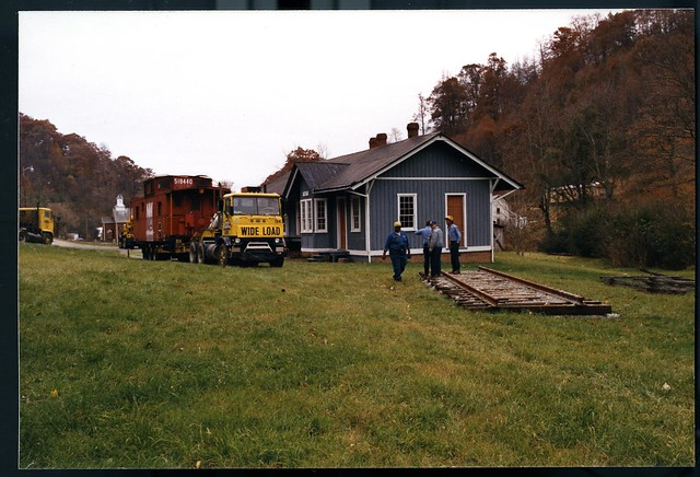 Norfolk & Western RR Elkland NC now at Todd NC 004
