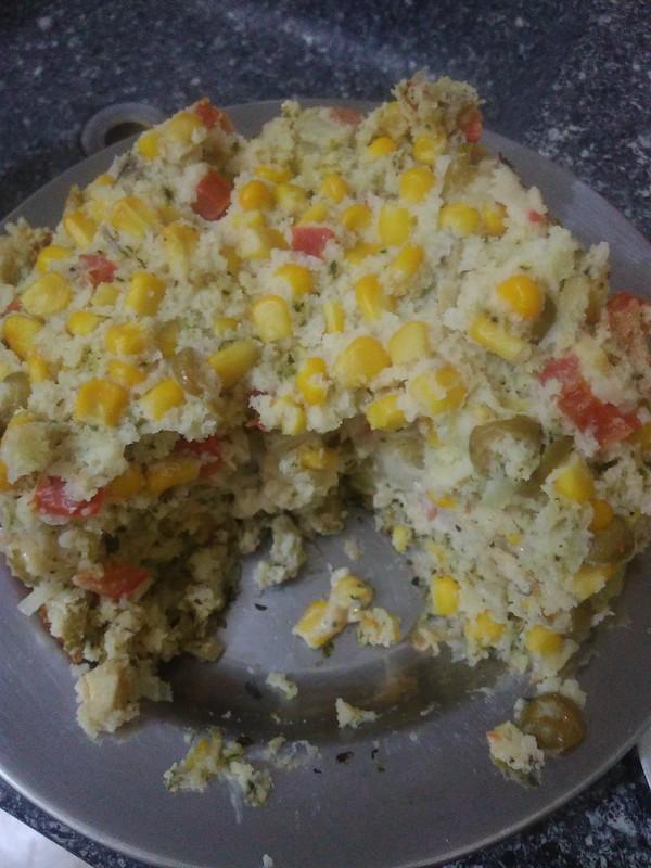 Cozinha Elétrica - Torta de Legumes Sem Glúten