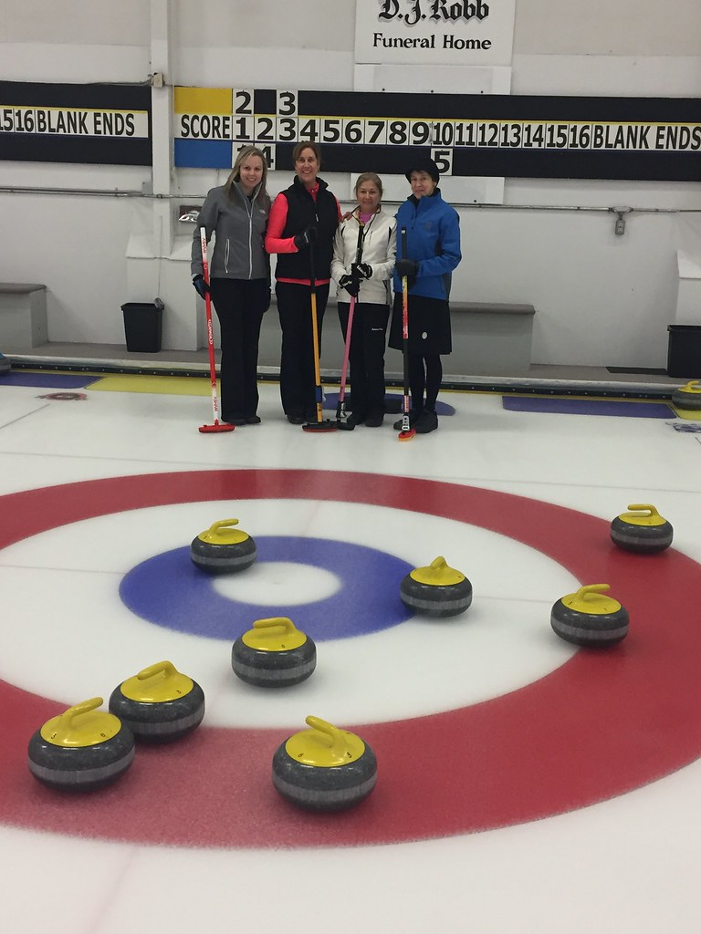 Thursday Night Business Ladies Curling Team