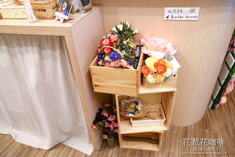 【台北咖啡館】松江南京站「花惹花FUA CAFE」,乾燥花主題咖啡店,拍照打卡咖啡館