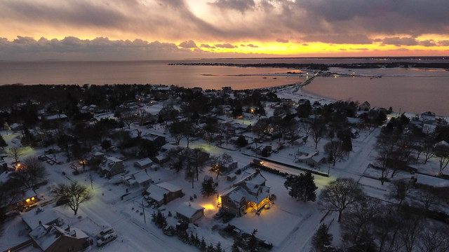 Twilight After a West Island Snowstorm