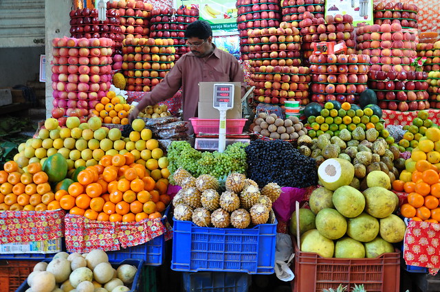 India - Karnataka - Mysore - Devaraja Market - Fruits - 239