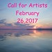 Small photo of Call for Artists