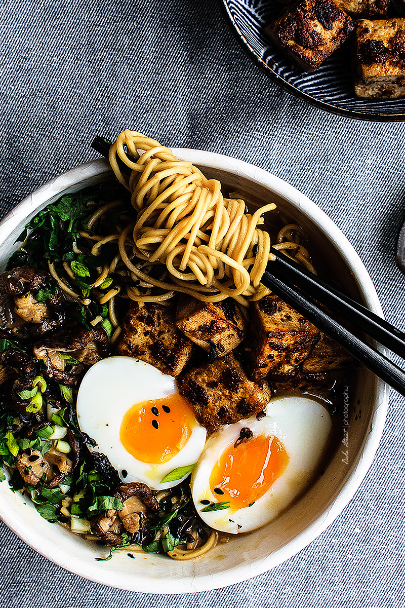 Spicy Ramen With Tofu